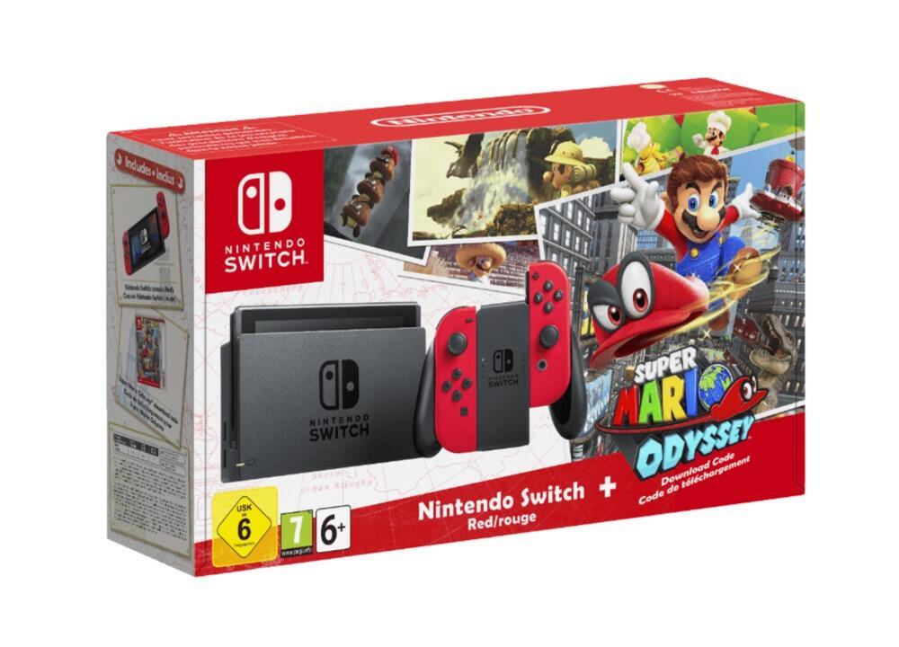 aff angebot kaufen mario Nintendo odyssey saturn super mario Switch