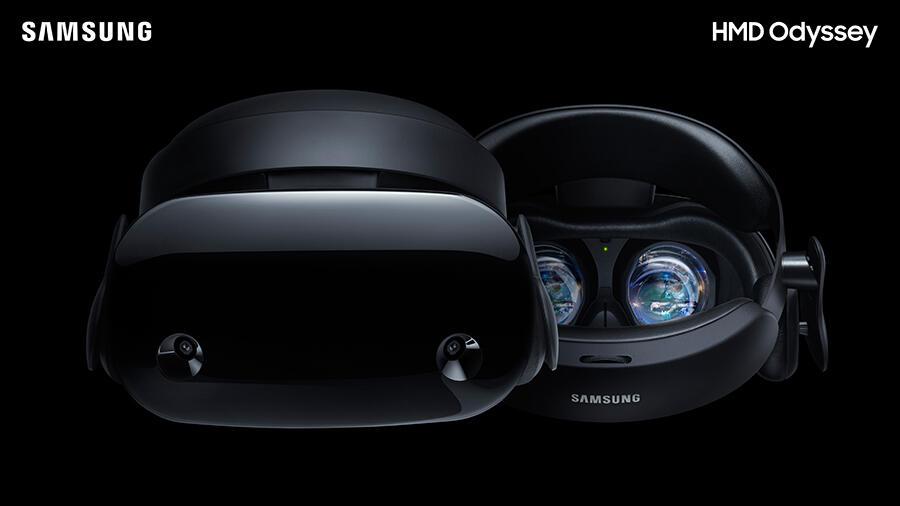HMD Odyssey mixed reality Samsung Windows