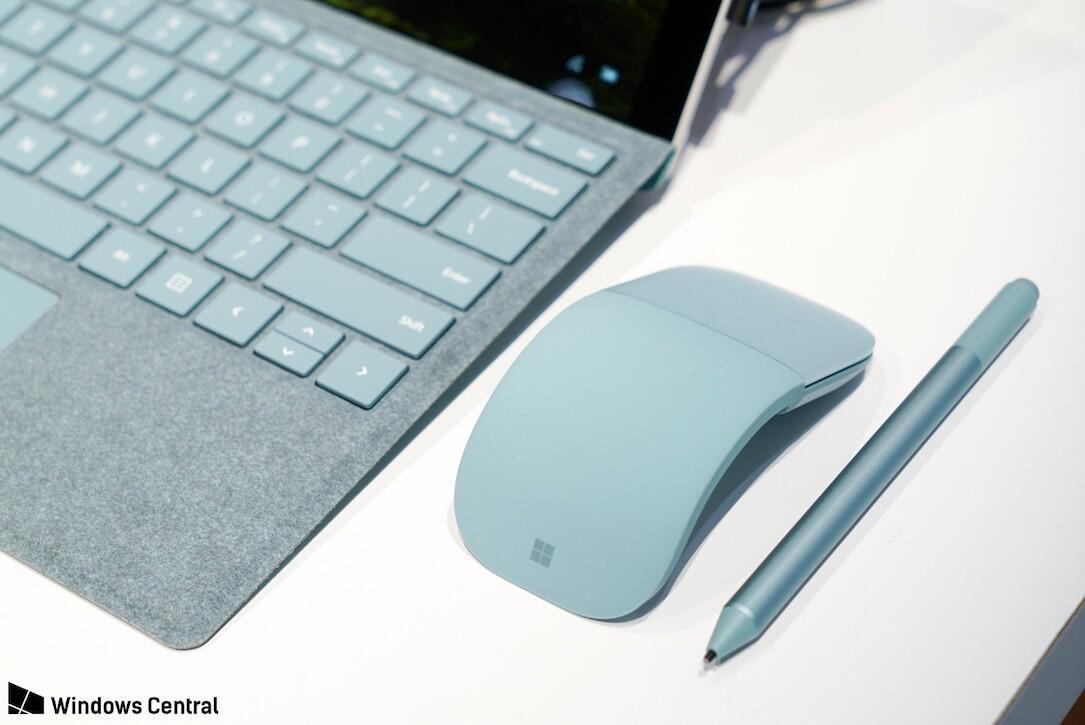 aqua farbe microsoft neu surface Windows