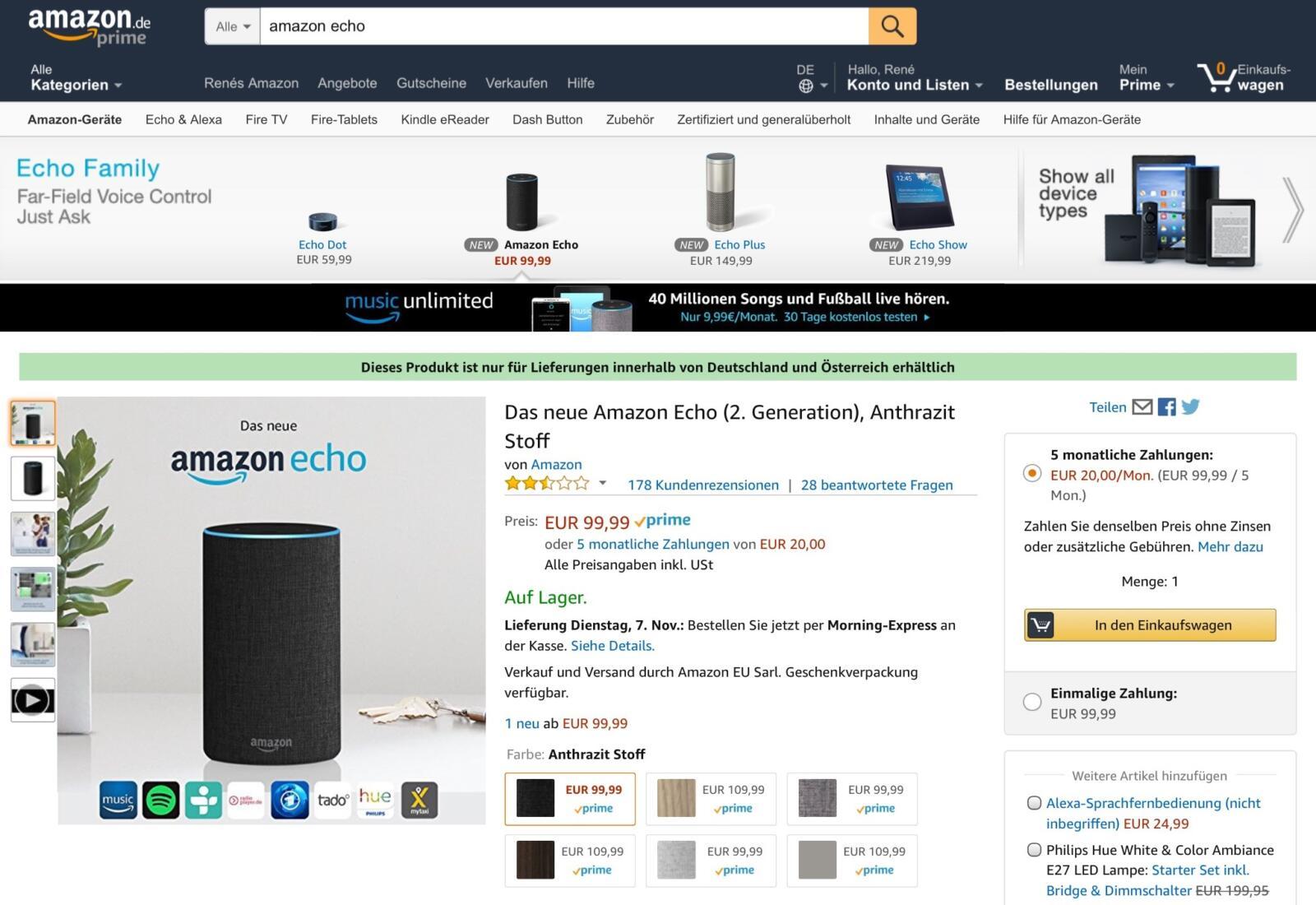 amazon startet null prozent finanzierung f r eigene hardware. Black Bedroom Furniture Sets. Home Design Ideas