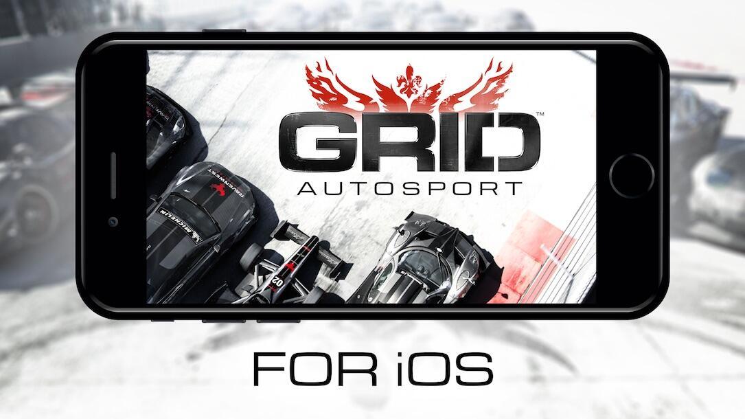 Apple autosport grid iOS rennspiel