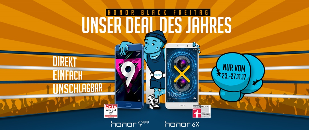 aff Android Honor Honor 6X Honor 9