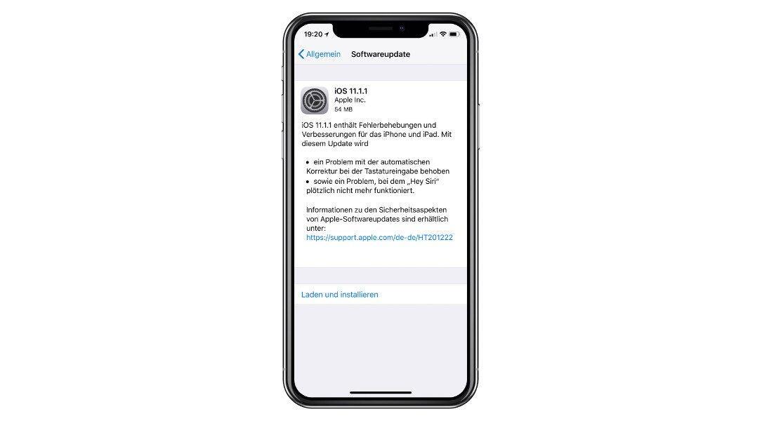 Apple ios 11 ios 11.1.1