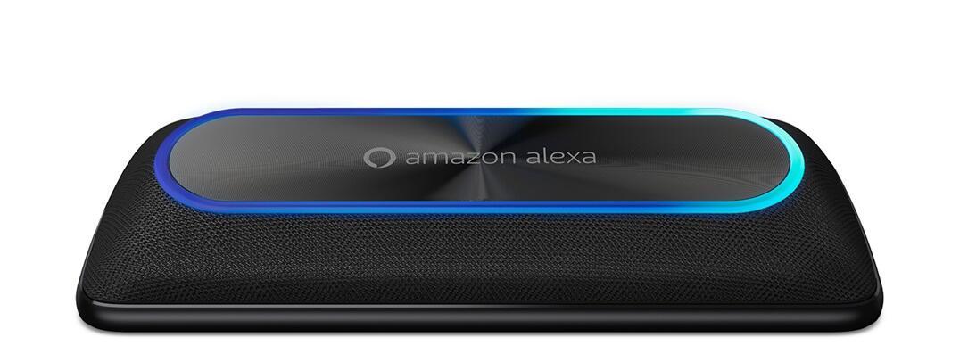 aff alexa Android Moto Mod Moto Smart Speaker mit Amazon Alexa