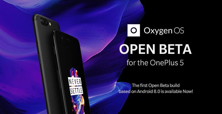 Android android 8.0 oreo beta oneplus oneplus 5