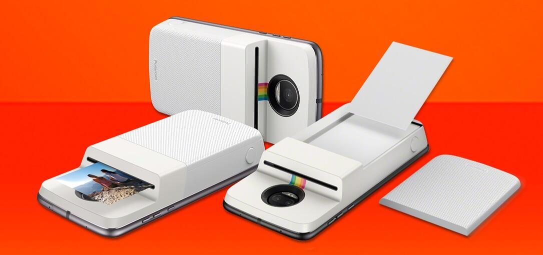 Android lenovo Moto Mod polaroid