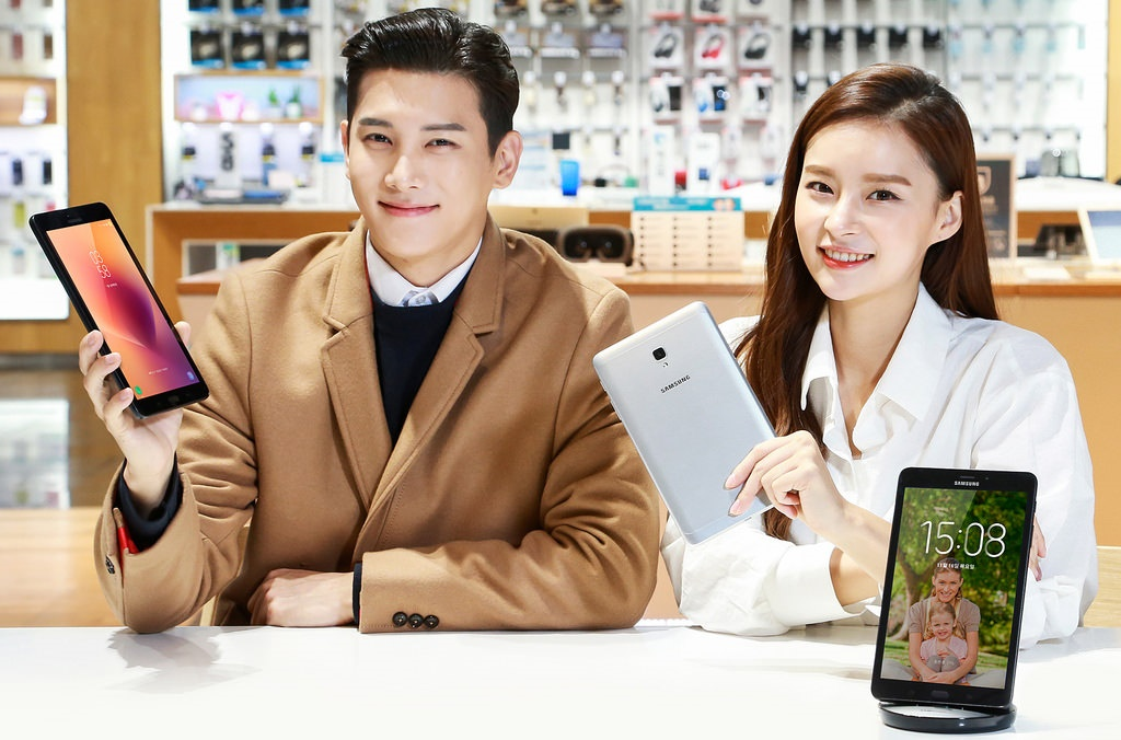 Android bixby Galaxy Tab A Samsung