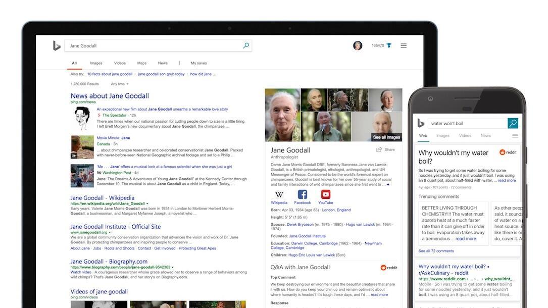 AI bing Google KI microsoft Reddit suche
