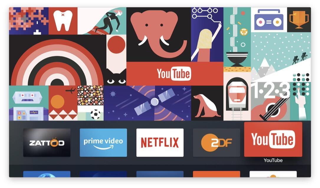 Apple apple tv filme Google google play movies serien YouTube