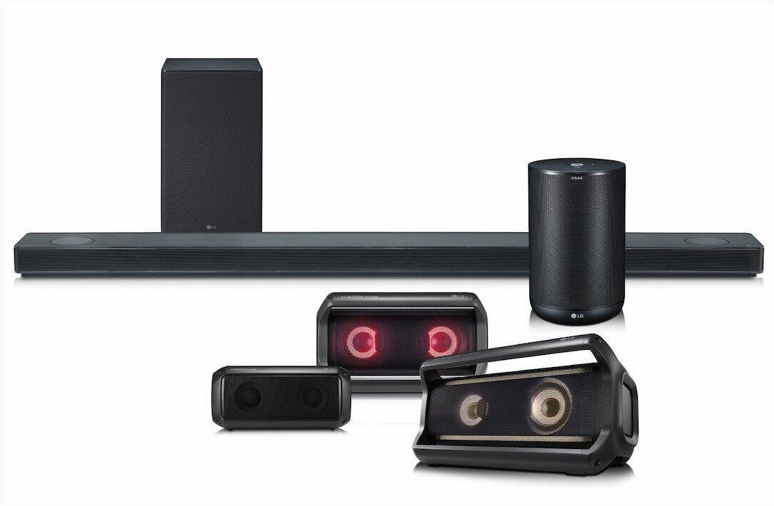 Android assistant CES2018 Google Lautsprecher LG Speaker thinq