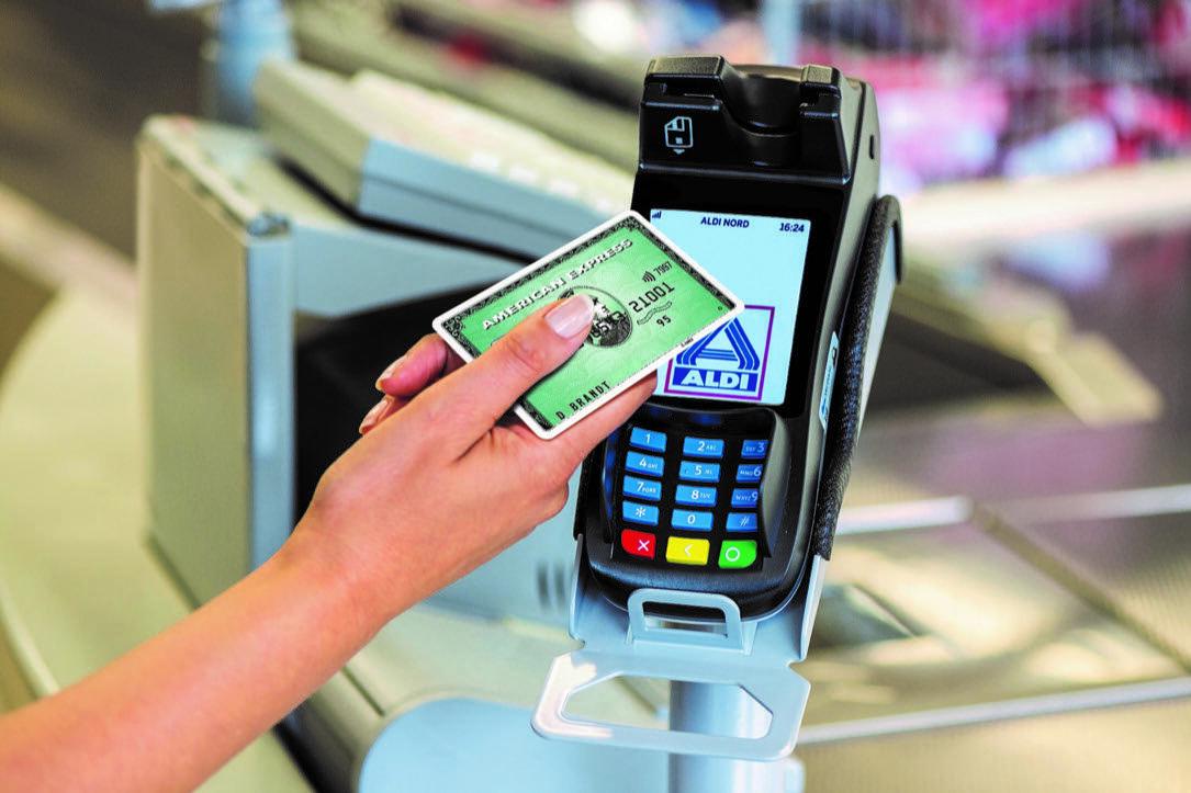aldi cc fintech handel kk kreditkarte shopping