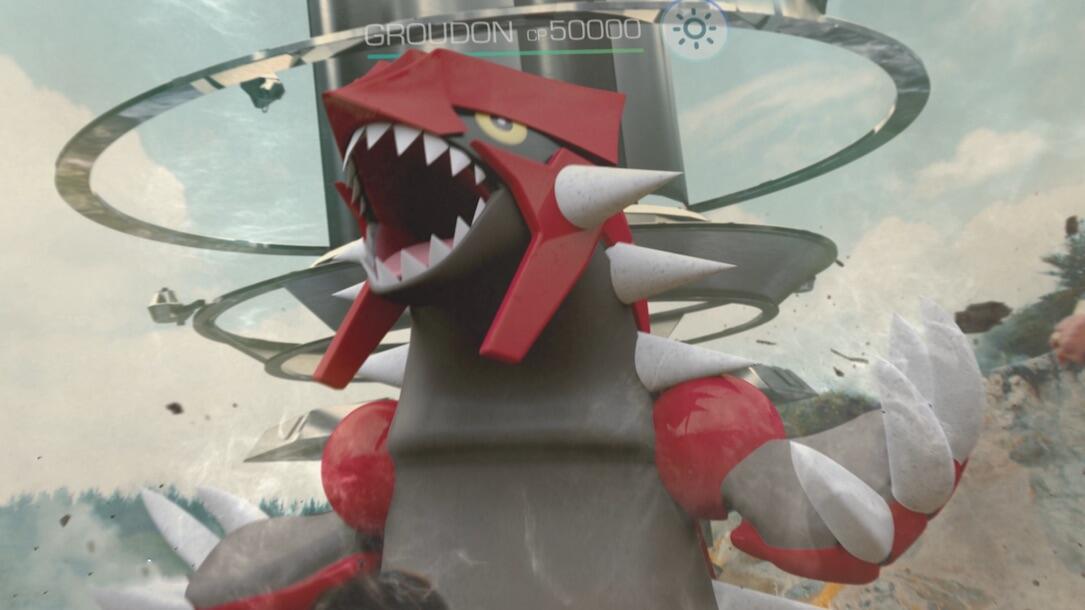 1 Android groudon iOS niantic pokemon pokemon go raid