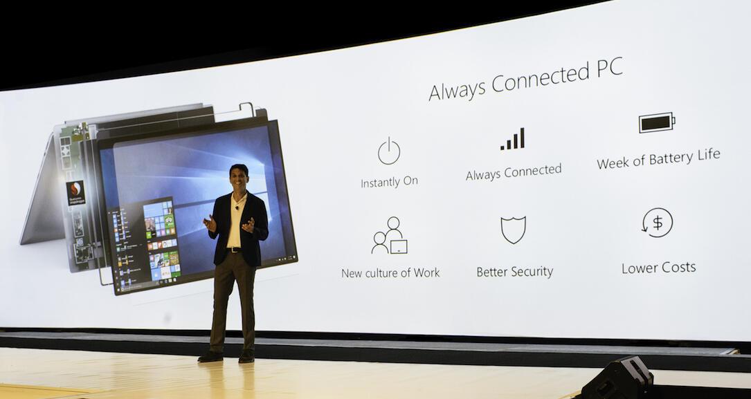 akkulaufzeit arm Asus HP laptop qualcomm Snapdragon 835 Windows Windows 10