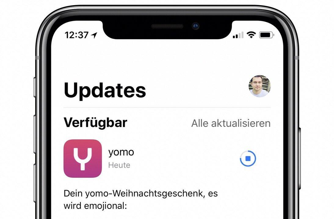 Android app Apple iOS Update yomo
