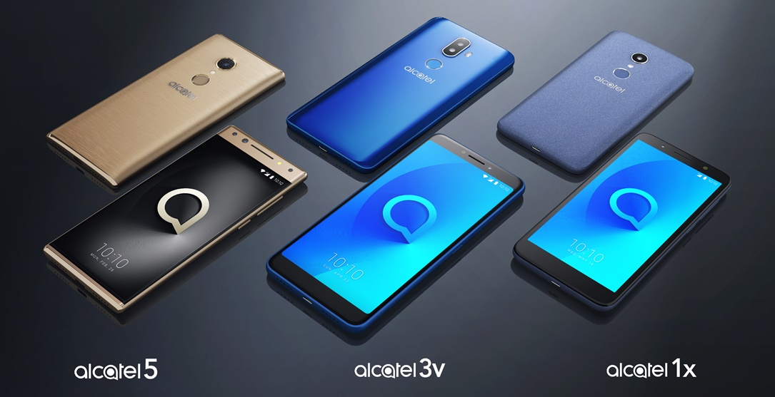 Alcatel Android CES2018 TCL