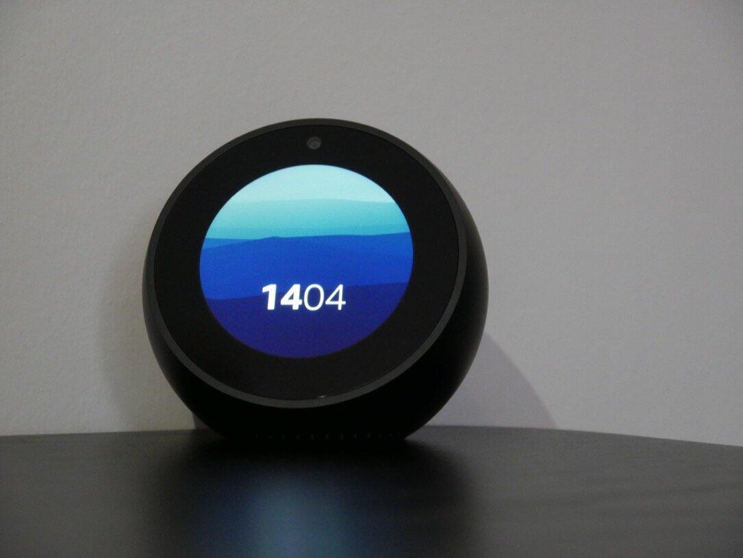 aff amazon Echo echo spot smart home spot Uhr
