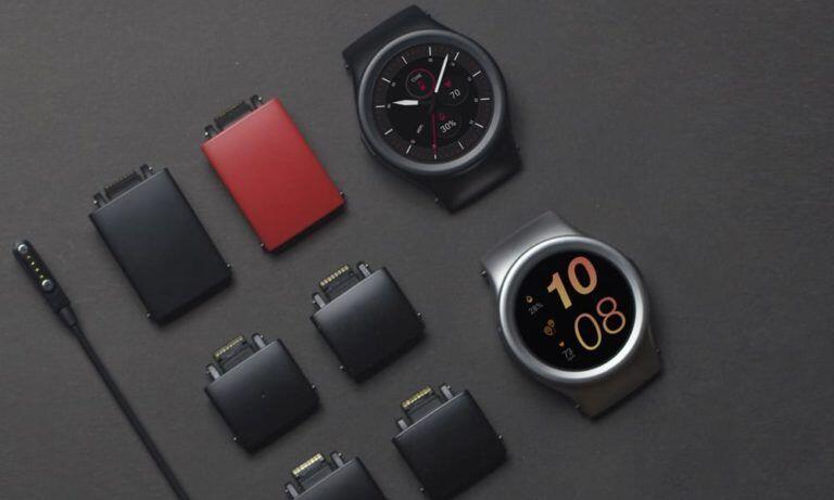 CES2018 kickstarter smartwatch Wearables