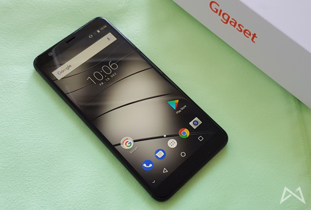 Android Gigaset GS370Plus review Siemens test