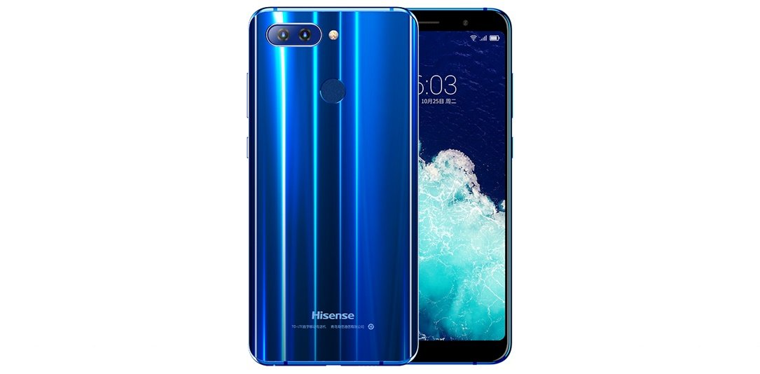 Android CES2018 Hisense Infinity H11 Pro