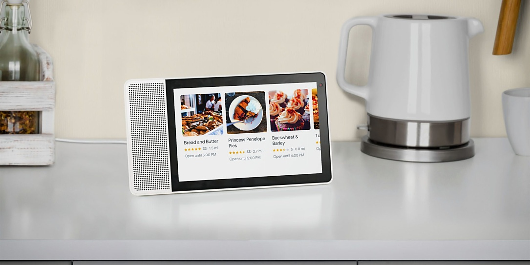 Android CES2018 Google Assistant jbl lenovo smart display