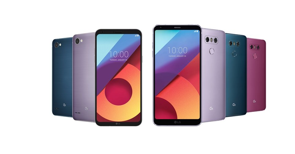 Android farben g6 LG