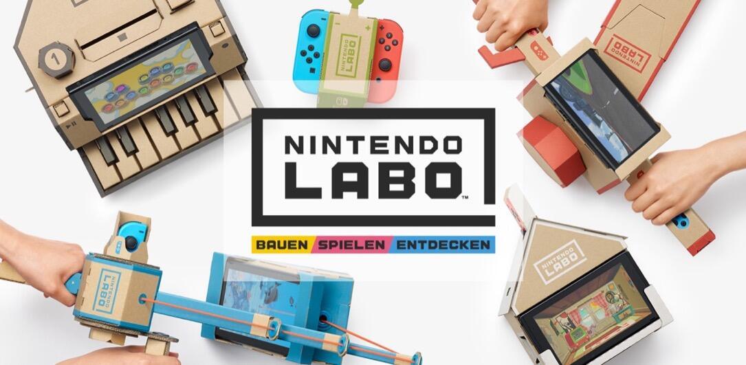labo Nintendo überblick Video