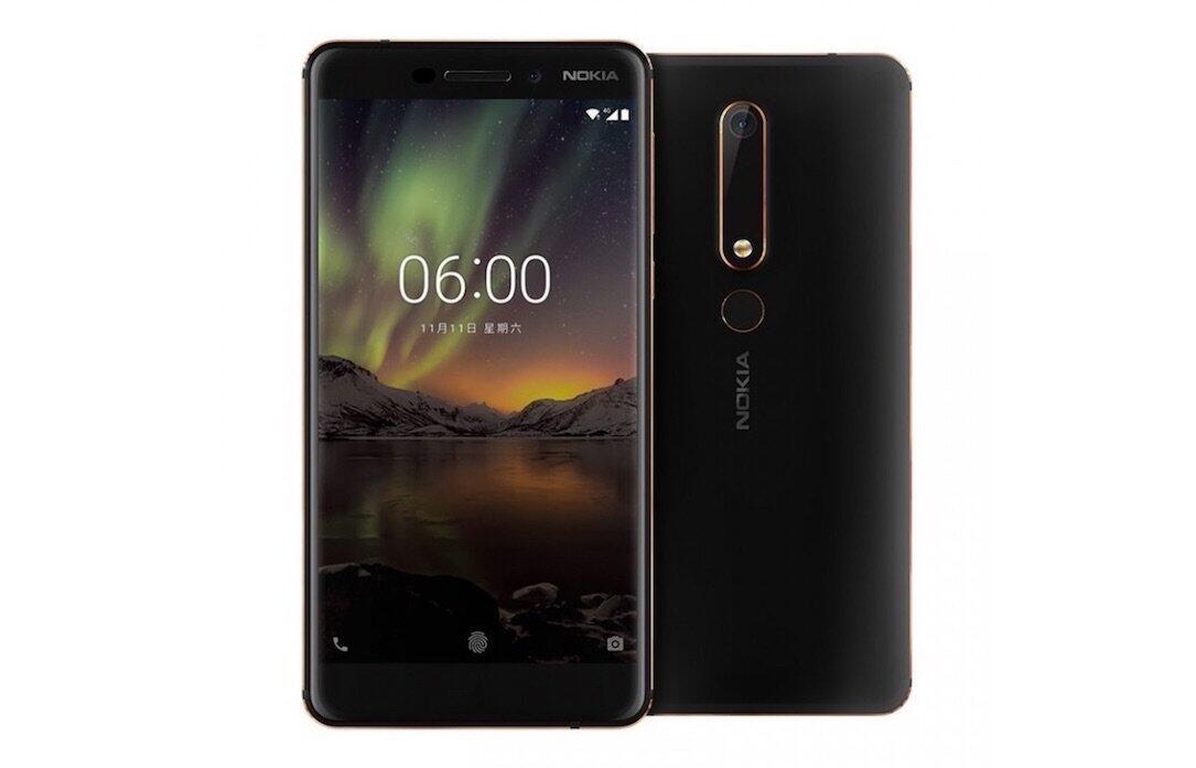 2018 Android bilder Leak Nokia nokia 6