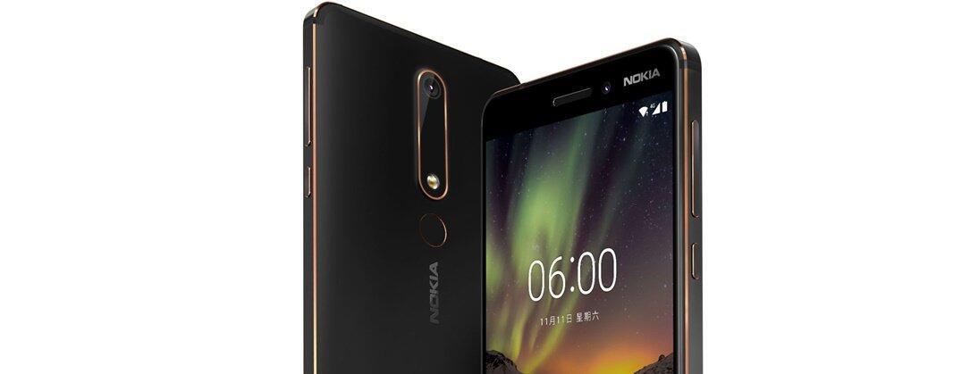 Android Nokia Nokia 6 (2018)