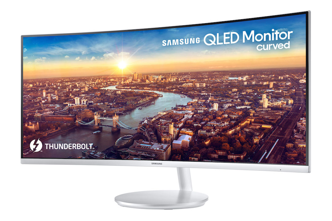 CES2018 Monitor qled Samsung