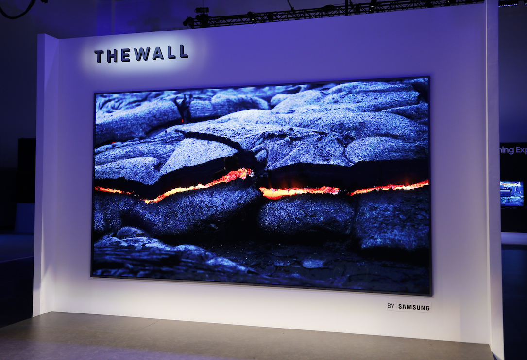 august microled mled qled Samsung the wall TV