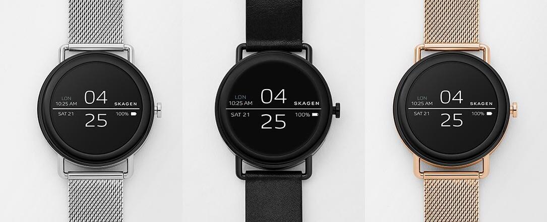 Android CES2018 Skagen Skagen Falster smartwatch