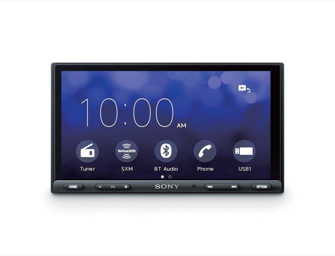 aff Android Apple auto carplay CES2018 Google Sony XAV-AX5000