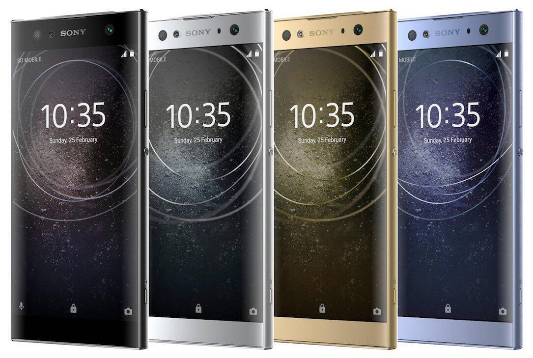 Android bilder Leak presse Sony ultra xa2 Xperia