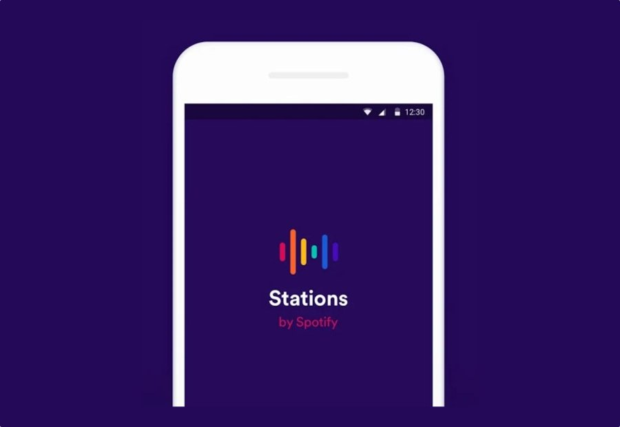 Android app Google Musik spotify stations