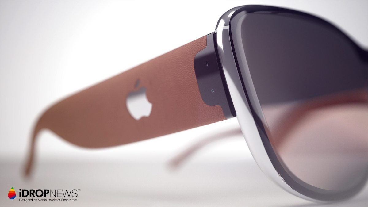 Apple AR brille Glass iOS Konzept