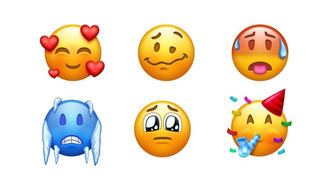 1 2018 Android Apple Emoji Google iOS liste microsoft neu