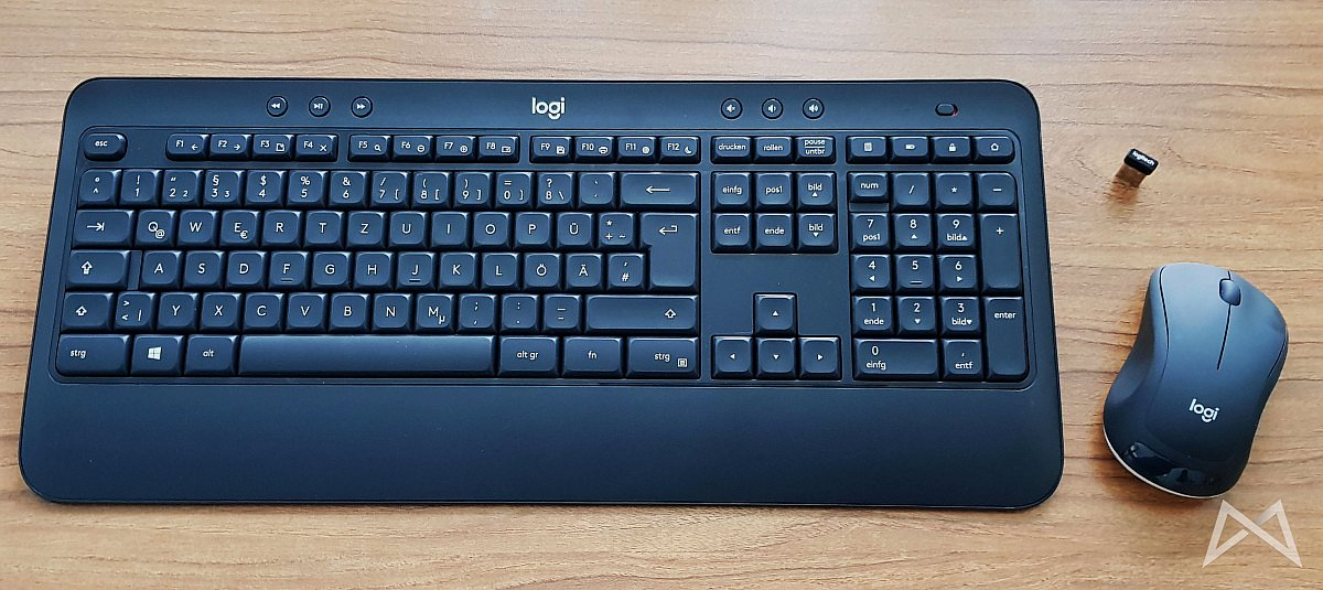 aff logitech maus MK540 Tastatur