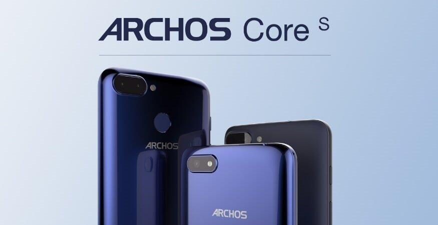 Android Archos Archos Core 55S Archos Core 57S Archos Core 60S MWC2018