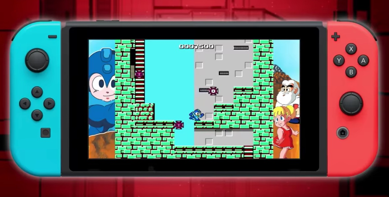 Capcom collection datum legacy mega man Nintendo Switch