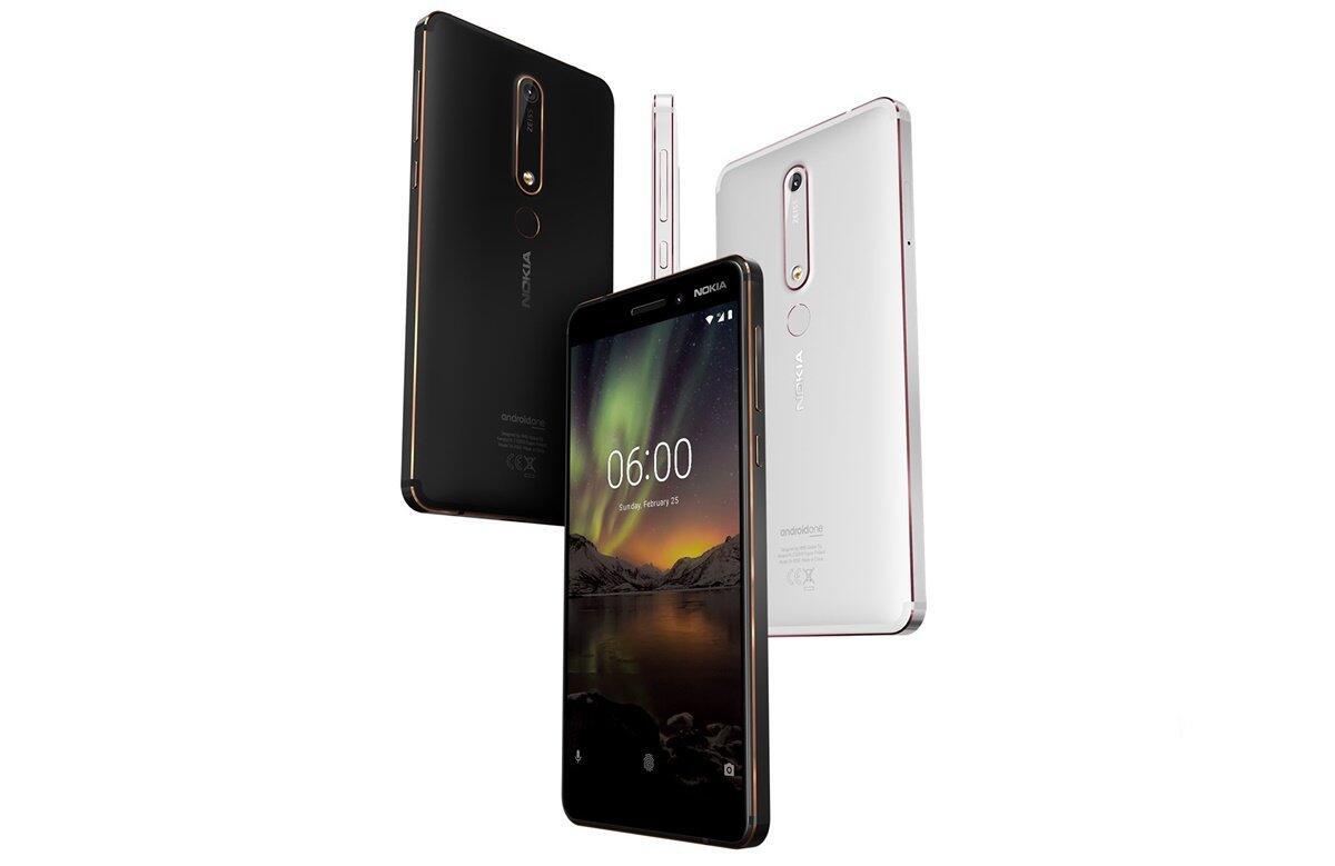 Android MWC2018 Nokia Nokia 6 (2018)