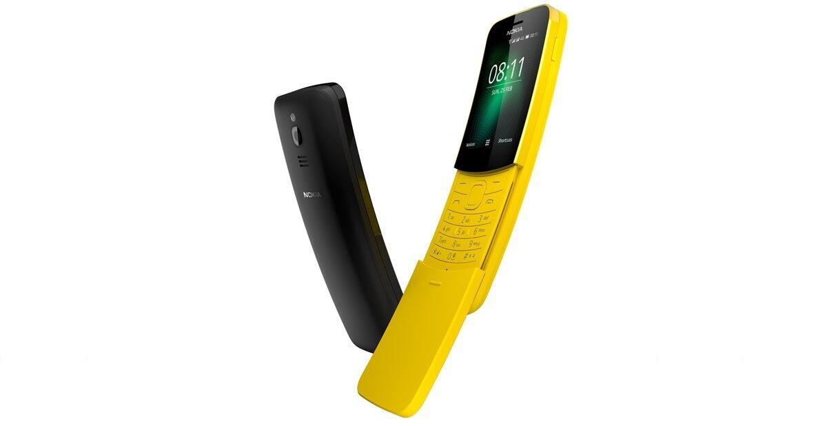 MWC2018 Nokia Nokia 8110 4G