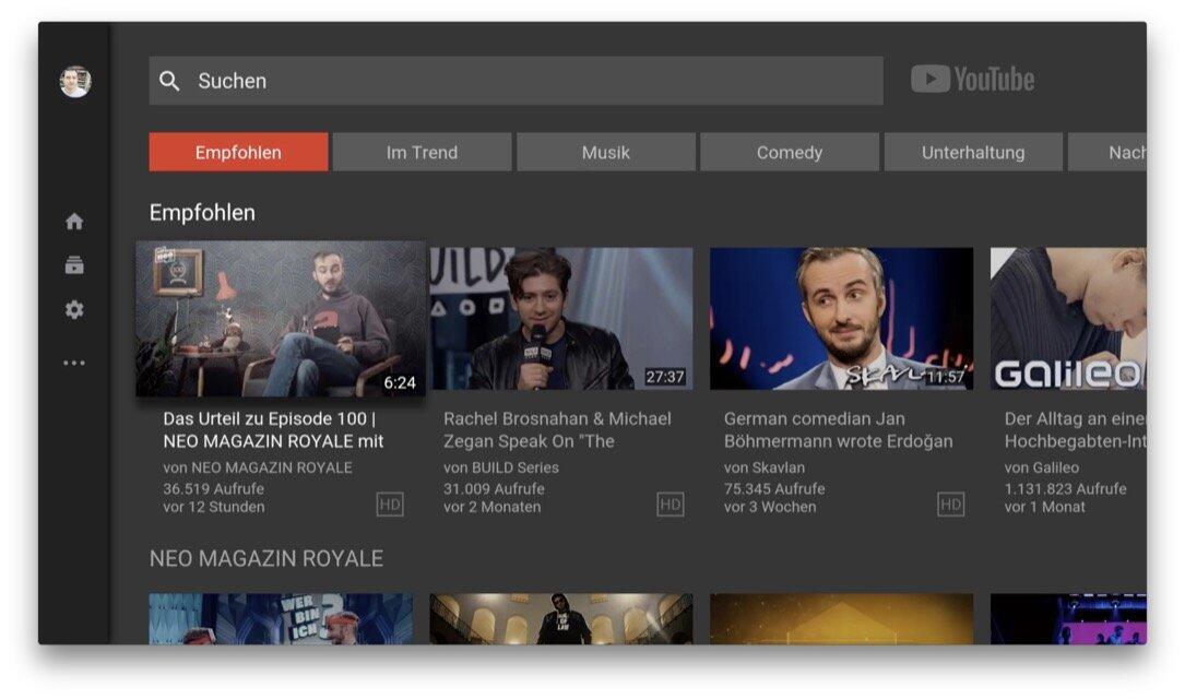 Apple apple tv TV tvos Update YouTube