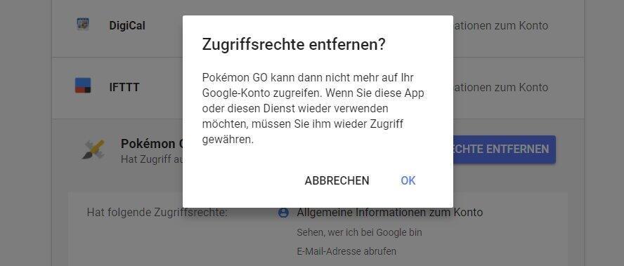 account App-Zugriff login Passwort Sicherheit