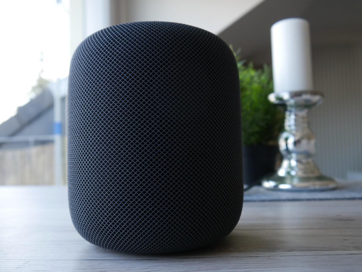 Apple Homepod Test