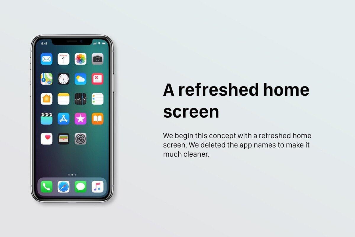 1 Apple iOS ios 12 iphone Konzept