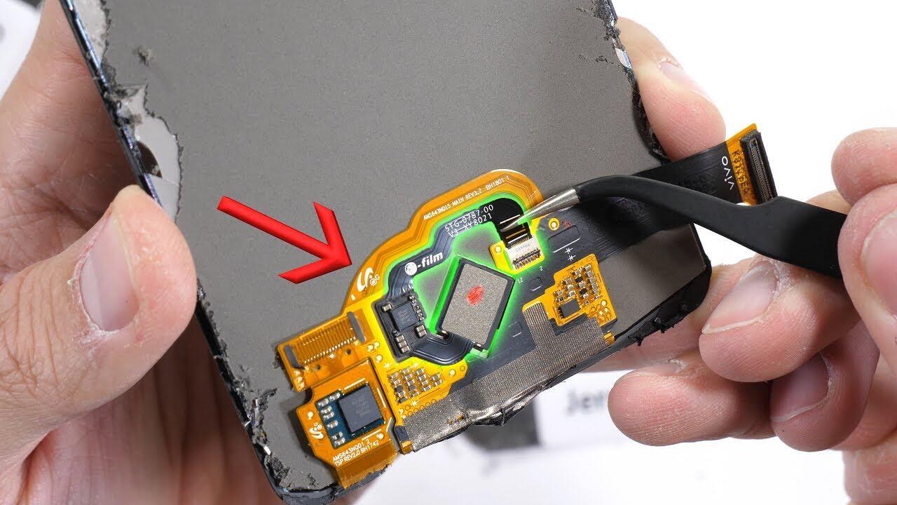 Android Fingerabdrucksensor Video Vivo YouTube