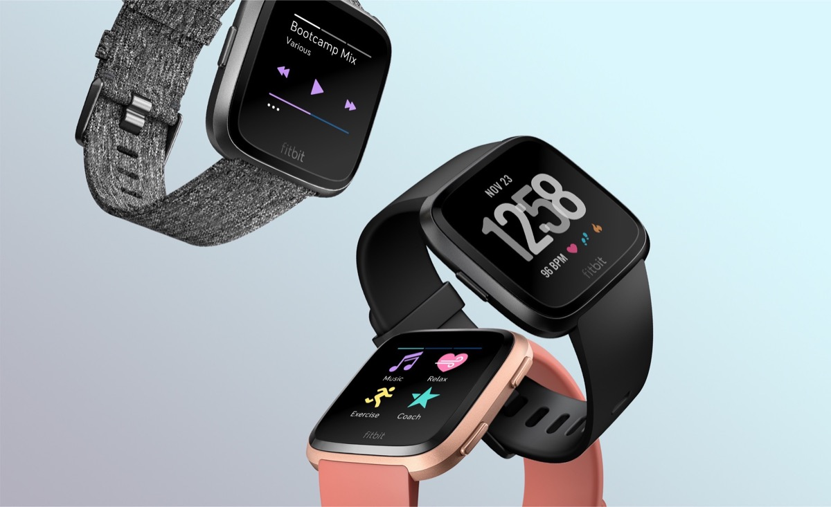 1 aff Android Apple fitbit Google iOS smartwatch versa