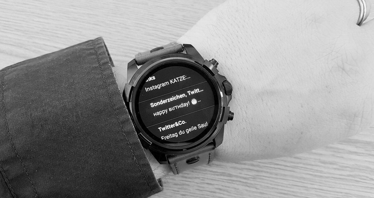 Android Wear diesel FULL GUARD Google Keep Notizen Update