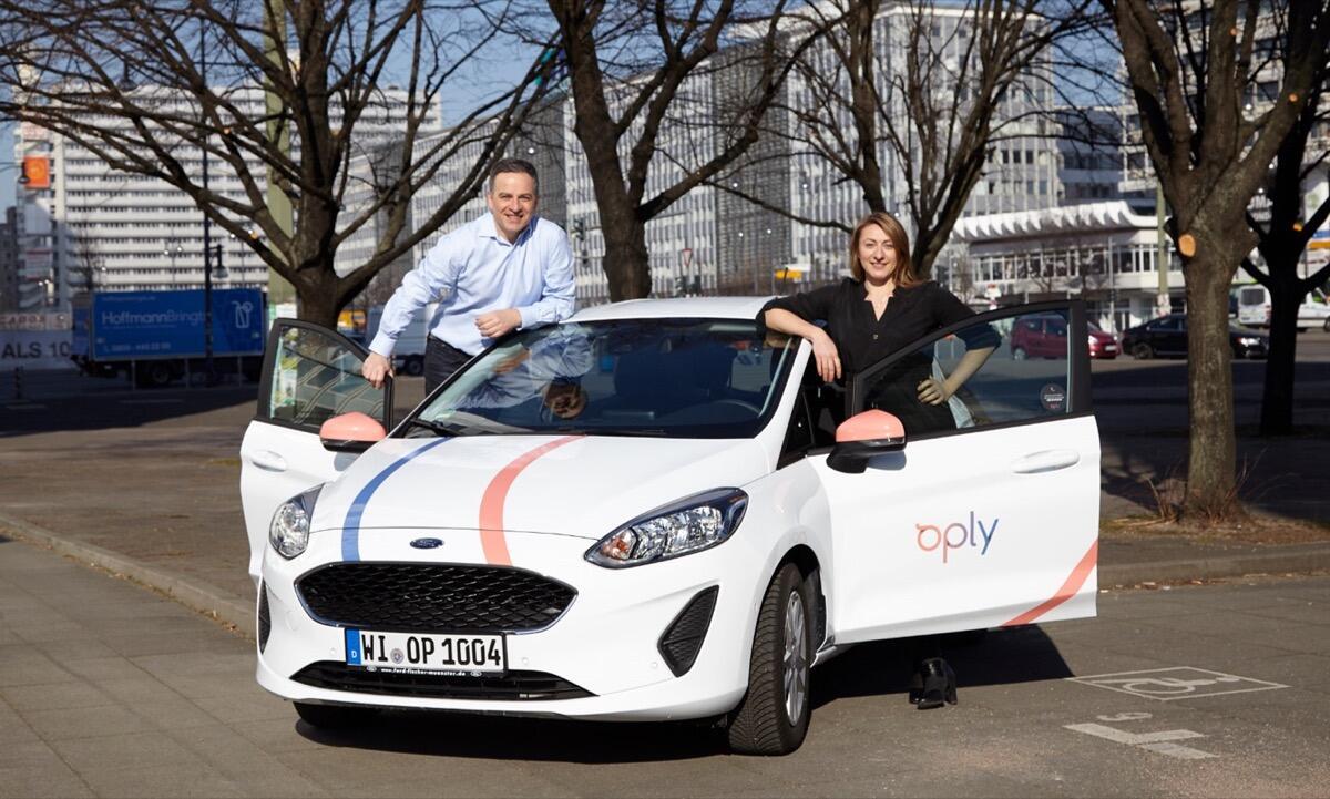 carsharing anbieter oply startet in deutschland. Black Bedroom Furniture Sets. Home Design Ideas