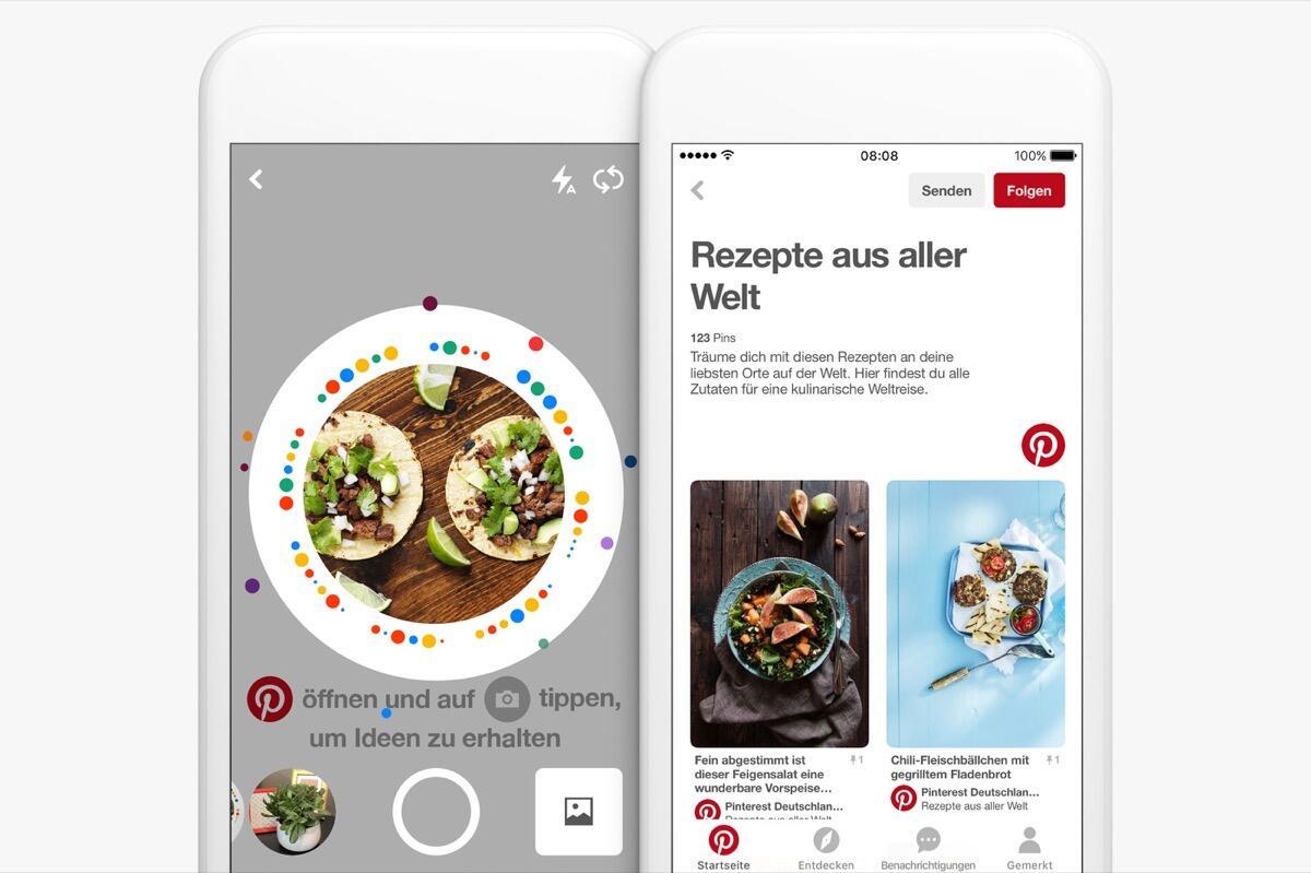 Android Apple pinterest social